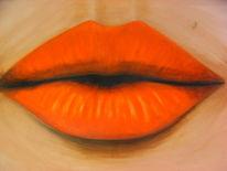 Mund, Sinnlichkeit, Körper, Malerei