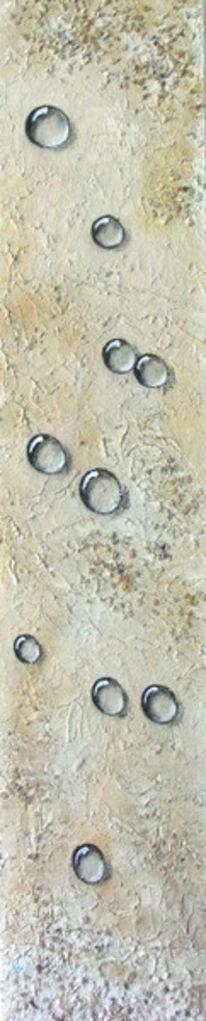 Sand, Tropfen, Malerei