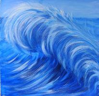 Welle, Blau, Meer, Wasser