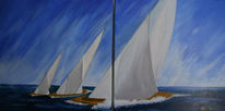 Wasser, Maritim, Nordsee, Segel