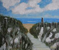 Maritim, Nordsee, Wangerooge, Malerei