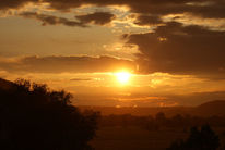 Sonne, Landschaft, Licht, Sonnenuntergang