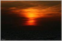 Abend, Sonnenaufgang, Meer, Landschaft