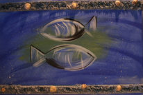 Muschel, Sternzeichen, Fische, Wasser
