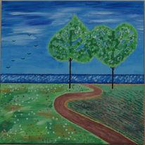 Jahreszeiten, Frühling, Stimmung, Malerei