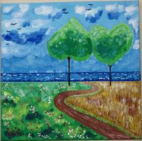 Jahreszeiten, Sommer, Malerei