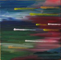 Polarlicht, Malerei, Abstrakt