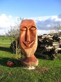Holz, Skulptur, Plastik, Figural