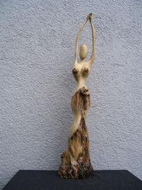 Skulptur, Holz, Plastik, Figural