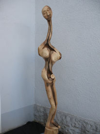 Holz, Skulptur, Plastik, Holzskulptur