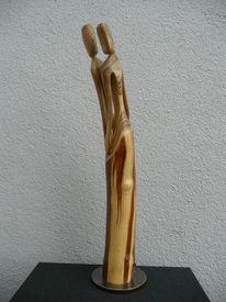 Holz, Skulptur, Holzskulpturen, Plastik