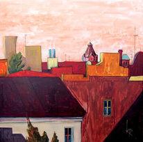 Malerei, Hinterhof, Berlin
