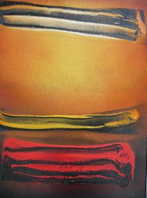 Malerei, Abstrakt, Materie