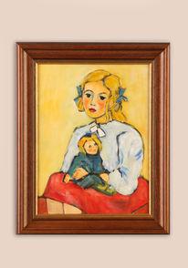 Malen, Acrylmalerei, Kind, Malschule