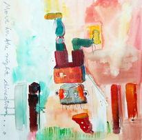 Ziel, Leben, Malerei, Abstrakt
