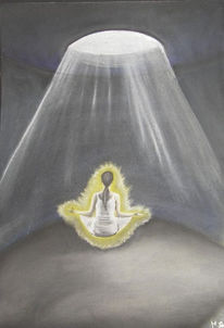Entspannung, Licht, Meditation, Energie