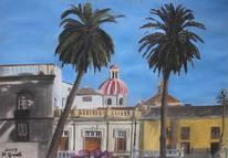 Urlaub, Palmen, Geschichte, Platz