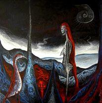 Schwarz, Tod, Trauer, Landschaft