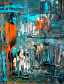 Farben, Acrylmalerei, Technik, Köln