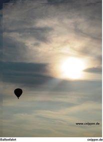 Ballon, Wolken, Fotografie, Wolkenschön