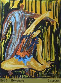 Malerei, Bewegung