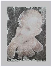 Einzeldruck, Kind, Druck, Druckgrafik
