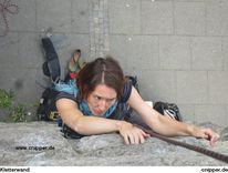 Kletterwand, Menschen, Klettern, Felsen