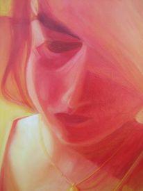 Ölmalerei, Gemälde, Öl auf holz, Malerei