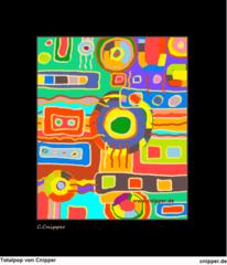 Farben, Bunt, Atelier, Totalpop