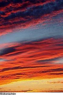 Wolkenschön, Himmel, Abendlicht, Sonne