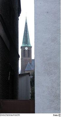Kirche, Plat, Zwischenraumsicht, Dorf