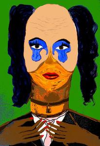 Martini, Clown, Zeichnungen, Portrait