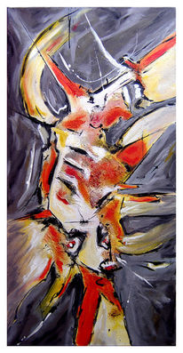 Malerei, Abstrakt figurativ