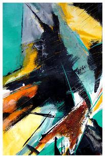 Malerei, Abstrakt, Hase