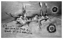 Hähnchen, Malerei, Abstrakt, Groß