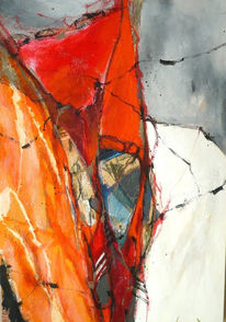 Zeitgenössisch, Abstrakt, Energie, Malerei