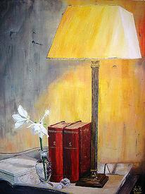Leben, Vase, Blumen, Licht