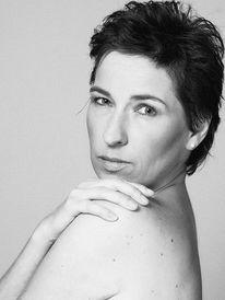 Frau, Schwarzweiß, Fotografie, Portrait