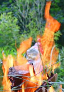 Feuer, Spießer, Zwerg, Fotografie