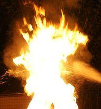 Feuer, Nacht, Teufel, Fotografie