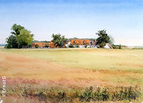Ernte, Hönighausen, Donaumoos, Herbst