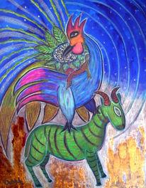 Chagall, Jüdische, Welt, Malerei