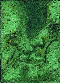 Grün, Menschen, Ölmalerei, Kuss