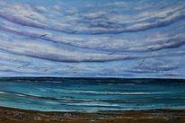 See, Ostsee, Seelandschaft, Wolken