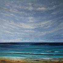 Meer, Himmel, See, Seelandschaft