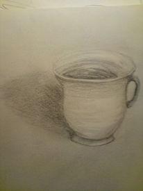 Tasse, Zeichnungen, Zeichnung