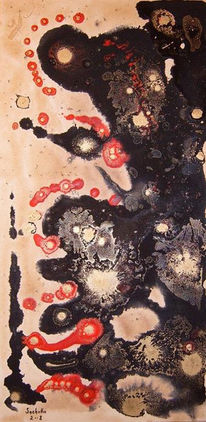 Acrylmalerei, Japan, Naturfarben, Shinto