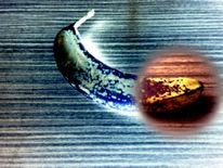 Banane, Digital, Digitale kunst, Stillleben
