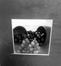 Obst, Schwarzweiß, Stillleben, Fotografie