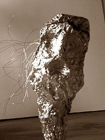 Skulptur, Schmerz, Abstrakt, Plastik